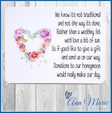 wedding wishes honeymoon honeymoon money poems cards invitations ebay