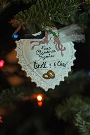 Couple First Christmas Ornament Morning Glories Fyi Friday The Family Christmas Tree U003d A