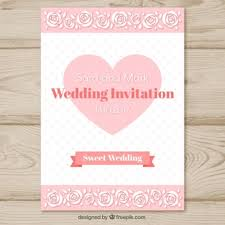 What To Write On A Wedding Invitation Hand Drawn Hearts Vector Free Download