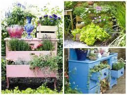 Recycled Garden Decor Diy Recycled Garden Dresser Garden Ideas 1001 Gardens Homemade
