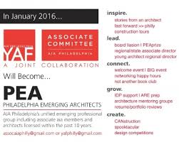 Architecture Resumes And Portfolios Introducing Pea Philadelphia Emerging Architects American