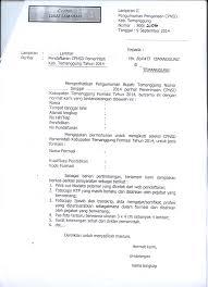 contoh surat lamaran kerja dengan cq bkd kabupaten temanggung