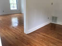 Sealing Laminate Flooring Select Red Oak With Golden Oak Stain By Dura Seal Oil Base Poly