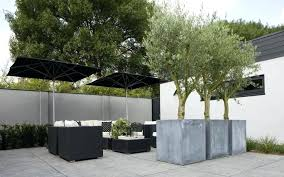 large concrete planter large concrete planters build raised planter round pertaining to