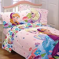 Frozen Bed Set 5 Size Frozen Bedding Set Includes 4pc