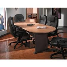 Conference Room Desk Amazon Com Bush Business Furniture 42 Inch Round Conference Table