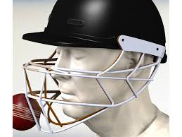 new design helmet for cricket cricket helmet safety improved with 3d simulation e t magazine