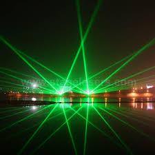 Outdoor Laser Lights 8w 30w Single Green Outdoor Landmarks Laser Lights Bomgoo