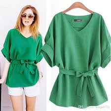 bow tie blouse plus size 2018 2017 summer 5xl plus size shirts linen tunic shirt v