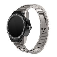 black titanium bracelet images Tag heuer connected black ceramic bezel men 39 s titanium bracelet watch jpg