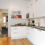 Small Apartment Kitchen Designs by Small Kitchen Appealing Design Small Apartment With Bright Theme