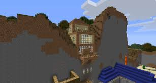 Mountain House Designs Minecraft Cliff House Designs House Designs