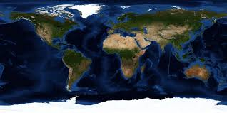 map of eart satellite map universe today