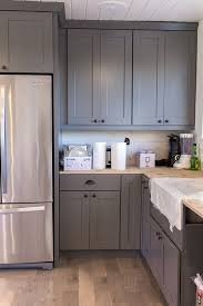 gray kitchen cabinets with bronze hardware u2013 quicua com