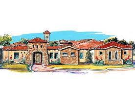 central courtyard house plans plan w16365md center courtyard views e architectural design