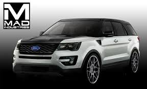 Ford Explorer Blacked Out - sema to show 4 special ford explorer builds ford authority