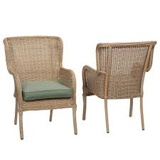 wicker outdoor dining chairs sets patio furniture front porch set