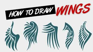 how to draw wings tribal tattoo style live stream youtube