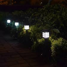 Solar Powered Fence Lights - 2pcs lot waterproof ip54 outdoor led light garden security lamp