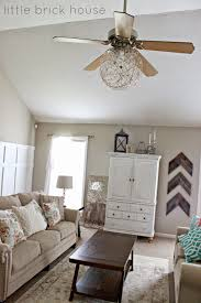 Bedroom Wall Fans Little Brick House Ceiling Fan Makeover Diy Projects