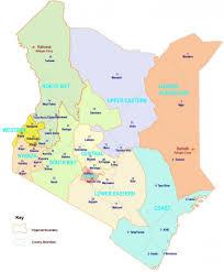Kenya Map Africa by General Information About Kenya Kenya