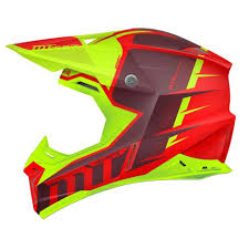 mt helmets synchrony spec offroad red green official outlet store