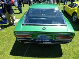 alfa romeo montreal a bright green alfa romeo montreal