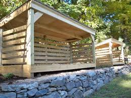 Plans For Building A Firewood Shed by