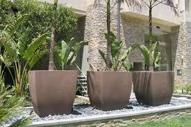 modern planters indoor u2014 randy gregory design wonderful modern