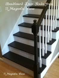 luxury vinyl plank on stairs with white risers vinyl floors
