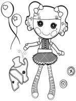 free printable lalaloopsy coloring pages kids