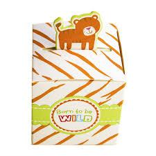 amazon com born to be wild party favor box cute jungle themed