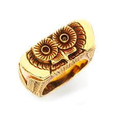 tiffany ring bracelet images Fd gallery a sculpted gold owl ring by tiffany co jpg