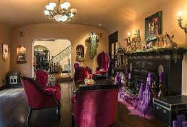 Gothic Dining Room Furniture Kat Von D U0027s House In The Holllywood Hills Before And After She