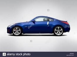 Nissan 350z Blue - 2006 nissan 350z grand touring in blue drivers side profile