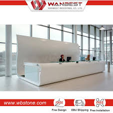Marble Reception Desk Popular 2 Person Reception Desk Spa Reception Desk Marble