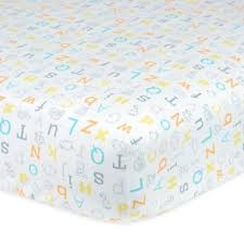yellow and grey baby bedding from buy buy baby