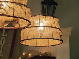 Diy Light Fixtures diy light fixtures baskets u0026 burlap ribbon by retrorach