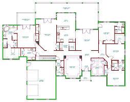 house plan mcm111floorplan ahwahnee hotel floor dashing split