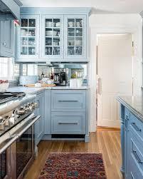 kitchen ideas with blue cabinets custom blue kitchen cabinets design ideas