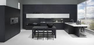 lack kchen schwarz moderne schwarz weiße küche interior kuchen and