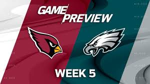 arizona cardinals vs philadelphia eagles week 5 preview