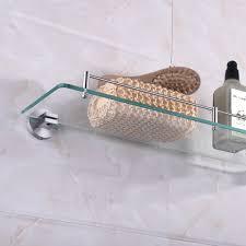 Glass Shelving Bathroom by Homgeek High Quality Multi Use Stainless Steel Glass Shelf Sales
