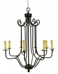 Real Candle Chandelier Lighting Candle Look Chandelier Foter