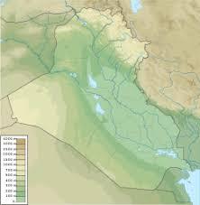 baghdad on a map baghdad
