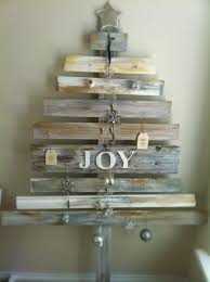 our diy home made recycled timber christmas tree garage crafts