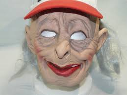 funny bingo grandma lady old woman female scary halloween costume