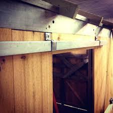 diy barn door track system sliding barn door track decor exterior system wallpaper shed small