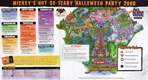 what is mickey u0027s not so scary map included wdwprince