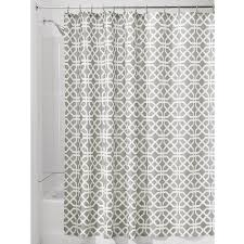interdesign trellis fabric shower curtain 183 x 183 cm stone